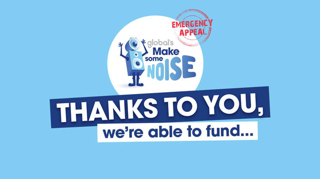 Thanks to you, we're able to fund...