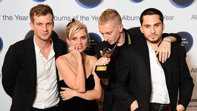 Wolf Alice at 2018 Hyundai Mercury Music Prize, held at the Eventim Apollo