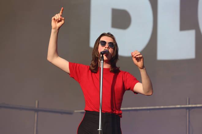 Tom Ogden of Blossoms at Reading Festival 2019