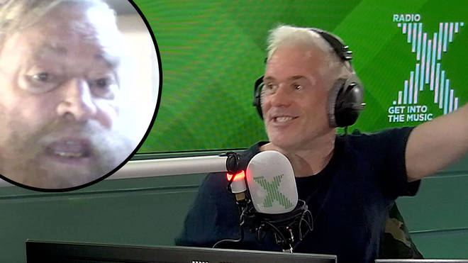 Brian Blessed appears on The Chris Moyles Show