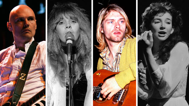 Smashing Pumpkins' Billy Corgan, Fleetwood Mac singer Stevie Nicks, Nirvana's Kurt Cobain and Kate Bush