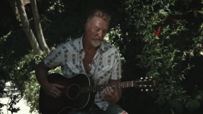 Josh Homme performs Them Crooked Vultures song Spinning in Daffodils for Lollapalooza 2020