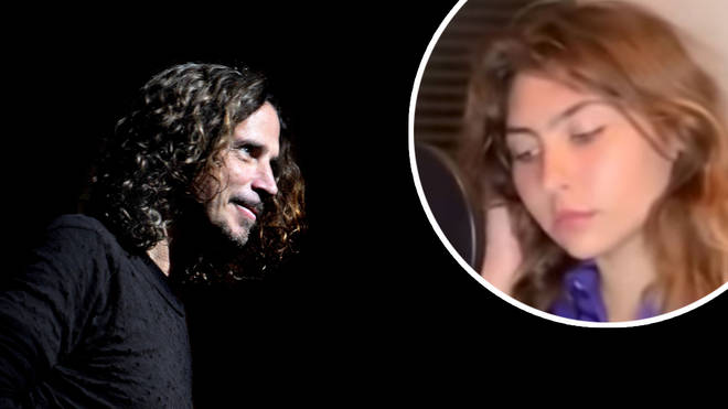 The late grunge icon Chris Cornell and his daughter Toni Cornell inset