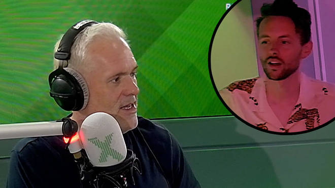 Chris Moyles got a shirt for James and it was makeover time