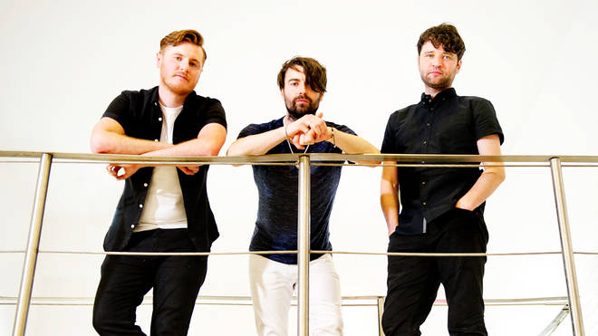 Courteeners in 2016:  Daniel Moores, Liam Fray and Michael Campbell