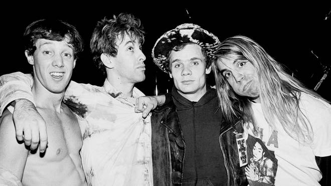 Portrait Of Red Hot Chili Peppers At The Ritz in 1986