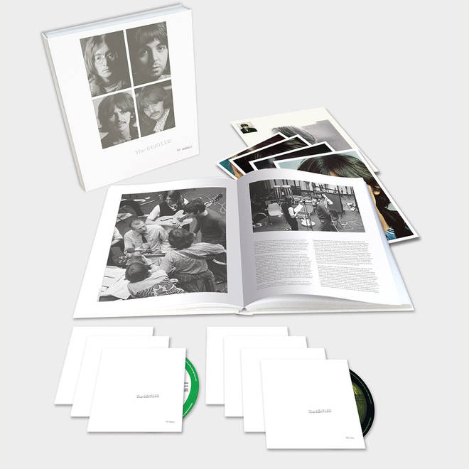 The Beatles White Album Deluxe CD Edition