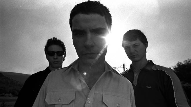 Stereophonics in 1997: Stuart Cable , Kelly Jones and Richard Jones