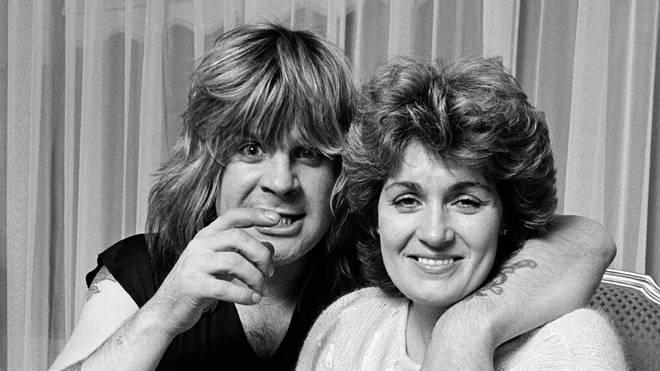 Ozzy Osbourne and Sharon Osbourne in 1981