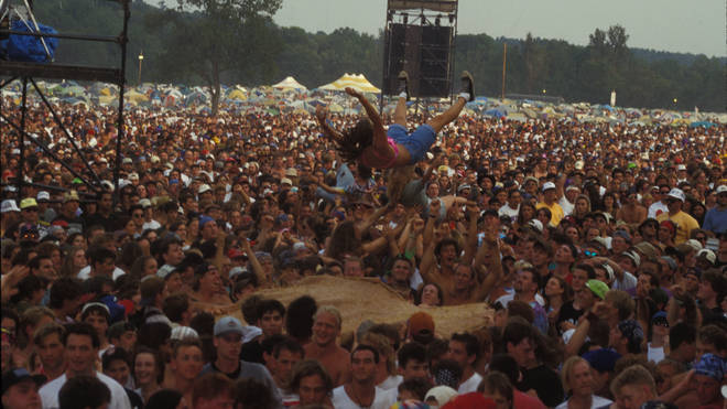 The crowd at Woodstock 94