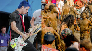 Green Day at Woodstock 94