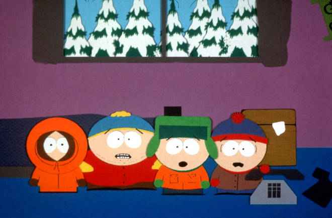 South Park: Kenny, Cartman, Kyle and Stan