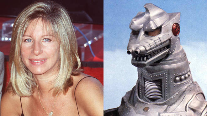 Put Barbra Streisand and Mecha-Godzilla together and what do you get...?