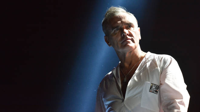 Morrissey performs at The O2 Arena, London in 2014