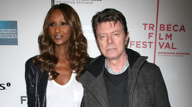Lexi's parents: Bowie and Iman, together in 2009