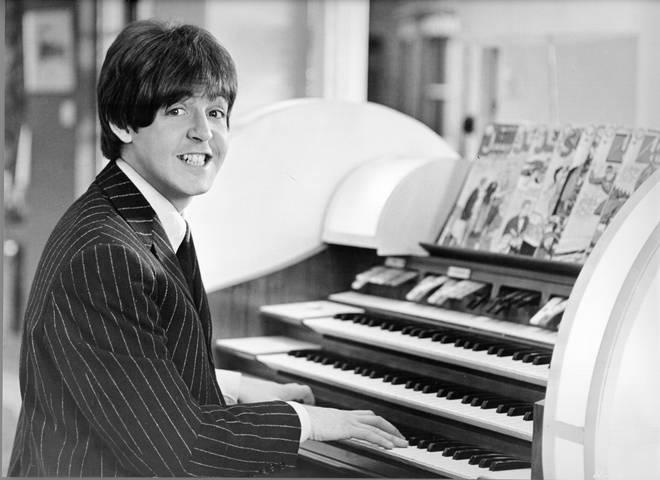 Paul McCartney in the Beatles film Help!