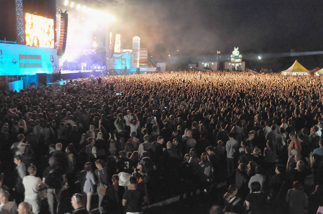 The biggest festival of all time:  Donauinselfest DIF 2015