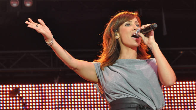 Natalie Imbruglia performs at the world's biggest open air festival, 27 June 2015. Yes, she did Torn.