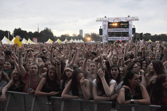 Just some of the crowd that turned up for Donauinselfest 2015