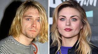 Kurt Cobain in 1993, Frances Bean Cobain in 2018
