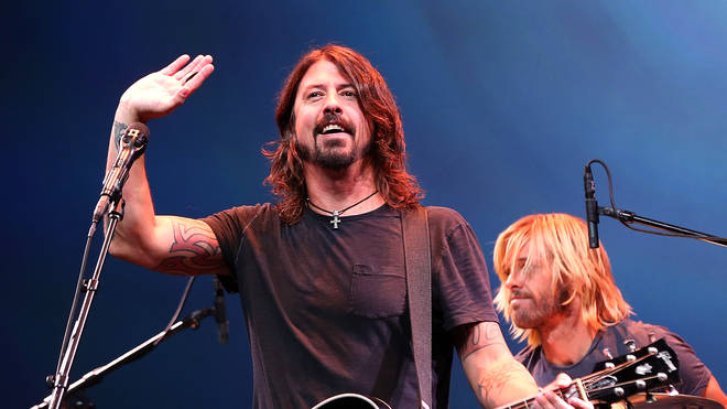 Dave Grohl of the Foo Fighters peforms in 2012