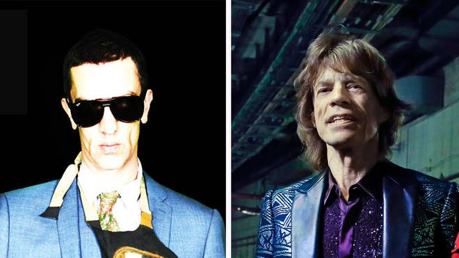 Richard Ashcroft and Mick Jagger
