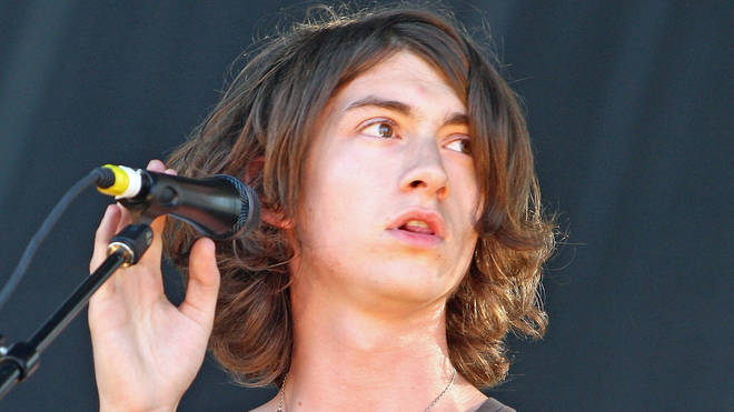 Alex Turner performing with Arctic Monkeys at All Points West festival in New Jersey, 2009
