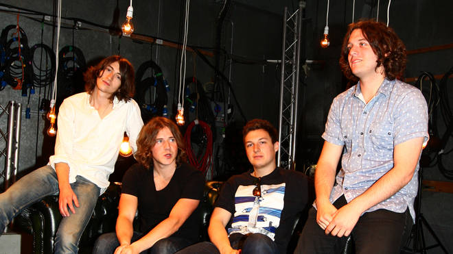 Arctic Monkeys at MTV in August 2009
