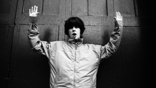 John Squire of The Stone Roses in 1997