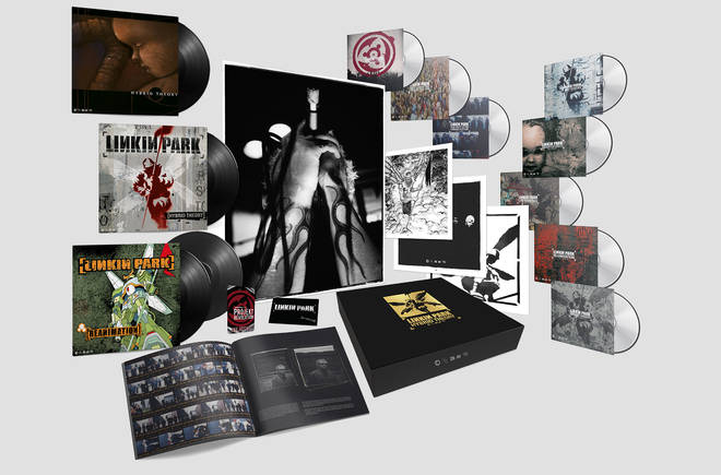 Linkin Park have announced their Hybrid Theory 20th Anniversary Edition Super Deluxe Box Set