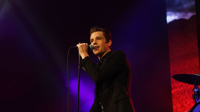 The Killers Brandon Flowers in Las Vegas in 2017