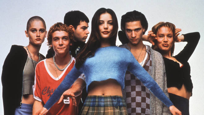 The cast of Empire Records, 1995