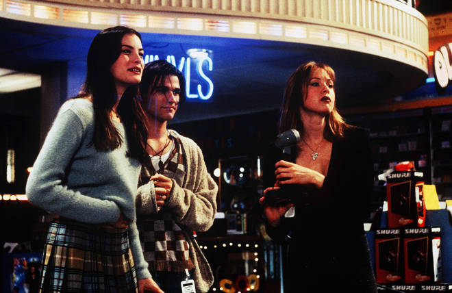 Liv Tyler, Johnny Whitworth and Renee Zellweger in Empire Records