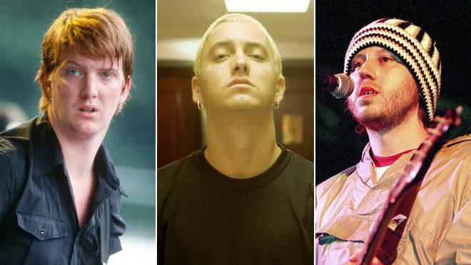 Josh Homme, Eminem and Badly Drawn Boy