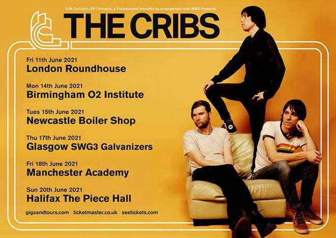 The Cribs 2021 tour dates
