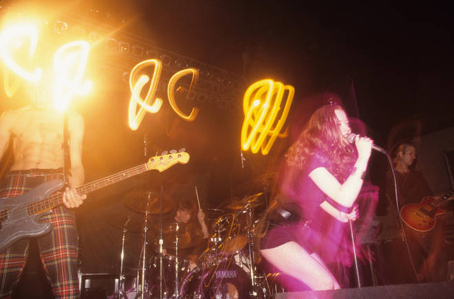 Shirley Manson performing with Angelfish in New York in 1993