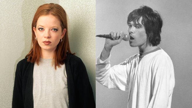 Shirley Manson and Ian Brown