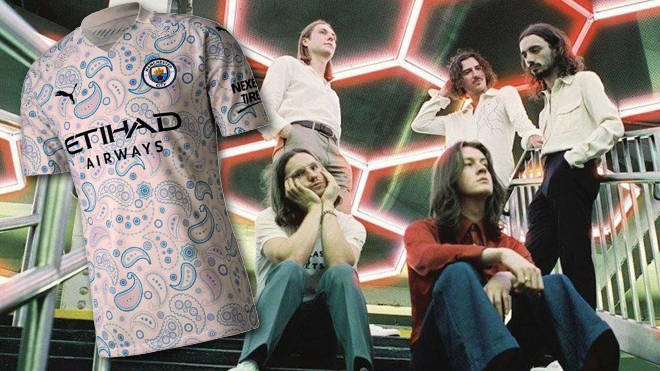 Blossoms and the new Manchester City Third Kit