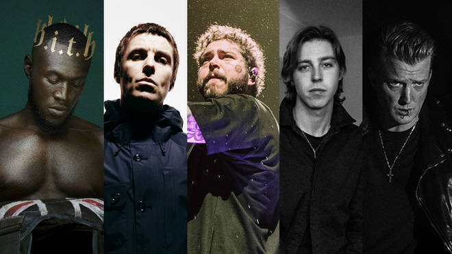 Stormzy, Liam Gallagher, Post Malone, Van McCann of Catfish & The Bottlemen and QOTSA's Josh Homme