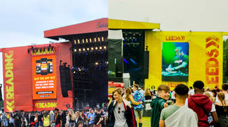 Reading and Leeds Festival stages