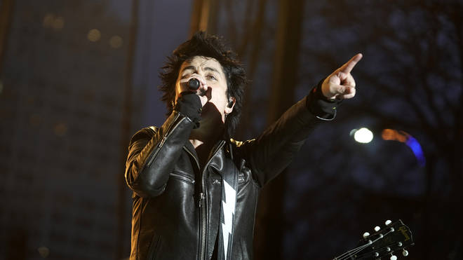 Billie Joe Armstrong of Green Day performs during the 2020 NHL All-Star Game weekend at the Enterprise Center on January 25, 2020