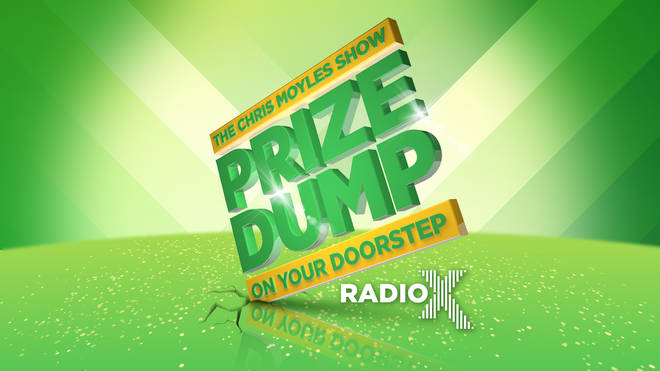 The Chris Moyles Show Prize Dump On Your Doorstep is back!