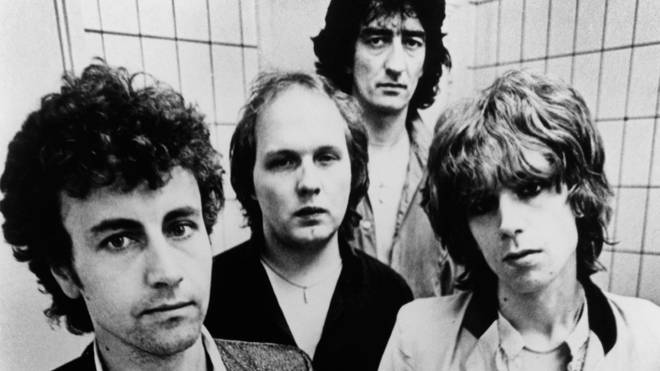 The Only Ones in 1978: Alan Mair, John Perry, Mike Kellie and Peter Perrett