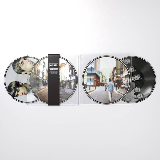 Oasis' (What's The Story) Morning Glory? for 25th anniversary picture disc vinyl release