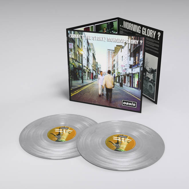 Oasis - (What's The Story?) Morning Glory silver vinyl