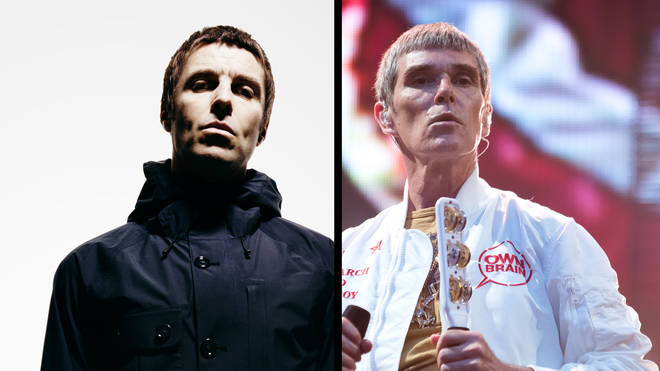 Liam Gallagher and Ian Brown