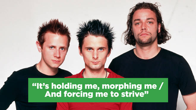 Muse:  Dominic Howard, Matthew Bellamy, and Christopher Wolstenholme
