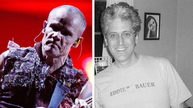 Red Hot Chili Peppers' Flea and early guitarist Jack Sherman