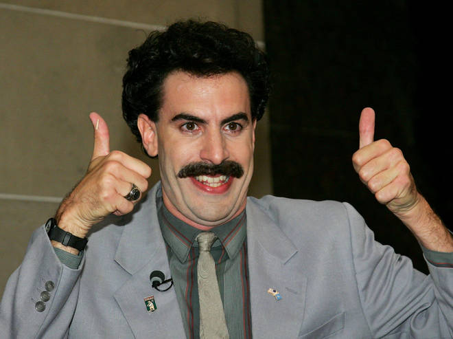 Sacha Baron Cohen Has Secretly Made Borat 2 Radio X