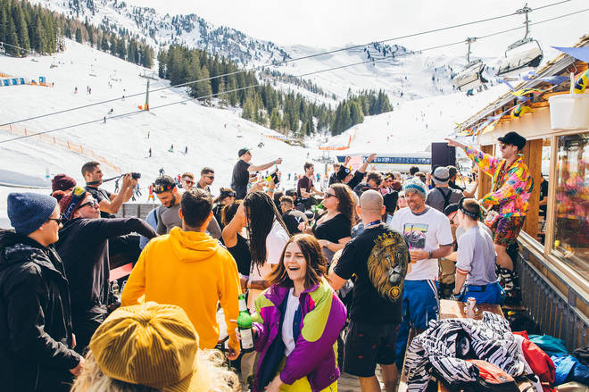 Revellers at Snowbombing 2017